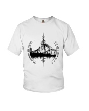 The Mountains Are Calling Youth T-Shirt thumbnail