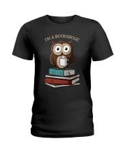 I Am A Bookaholic Ladies T-Shirt thumbnail