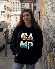 Camp Hooded Sweatshirt lifestyle-unisex-hoodie-front-1