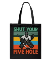 Shut Your Five Hole Tote Bag tile
