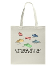 I Can't Drown My Demons Tote Bag thumbnail