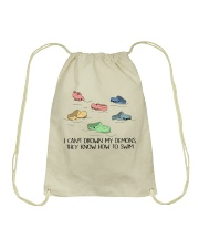 I Can't Drown My Demons Drawstring Bag tile