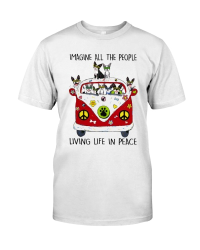 People Living Life In Peace