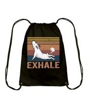 Goat Exhale Drawstring Bag thumbnail