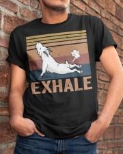 Goat Exhale Classic T-Shirt apparel-classic-tshirt-lifestyle-26