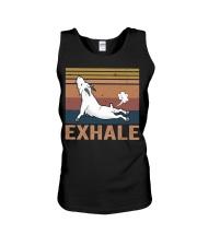 Goat Exhale Unisex Tank thumbnail