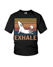 Goat Exhale Youth T-Shirt thumbnail