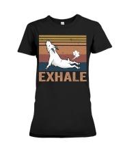 Goat Exhale Premium Fit Ladies Tee thumbnail