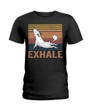 Goat Exhale Ladies T-Shirt thumbnail