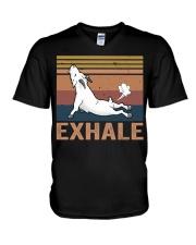 Goat Exhale V-Neck T-Shirt thumbnail