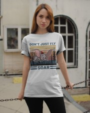 Don't Just Fly Soar Classic T-Shirt apparel-classic-tshirt-lifestyle-19