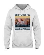 Don't Just Fly Soar Hooded Sweatshirt thumbnail