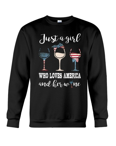 Just A Girl Love Wine