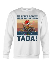 After God Made Me Crewneck Sweatshirt thumbnail