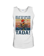 After God Made Me Unisex Tank thumbnail