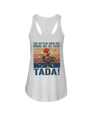 After God Made Me Ladies Flowy Tank thumbnail