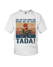 After God Made Me Youth T-Shirt thumbnail