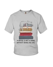 Books And Cats Youth T-Shirt tile