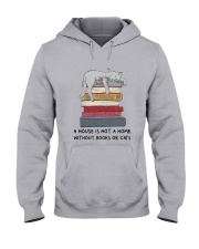 Books And Cats Hooded Sweatshirt tile