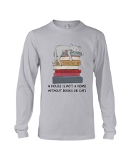 Books And Cats Long Sleeve Tee thumbnail
