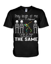 They Laugh At Me V-Neck T-Shirt thumbnail