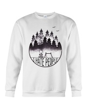 I Hate People 3 Crewneck Sweatshirt thumbnail
