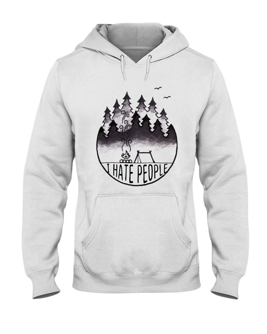 I Hate People 3 Hooded Sweatshirt
