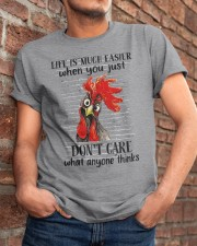 Life Is Much Easier Classic T-Shirt apparel-classic-tshirt-lifestyle-26