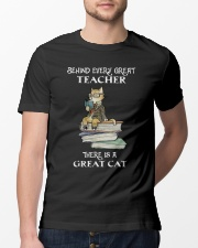 Behind Every Great Teacher Classic T-Shirt lifestyle-mens-crewneck-front-13