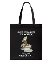 Behind Every Great Teacher Tote Bag thumbnail