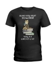 Behind Every Great Teacher Ladies T-Shirt thumbnail