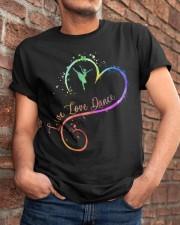 Live Love Dance Classic T-Shirt apparel-classic-tshirt-lifestyle-26