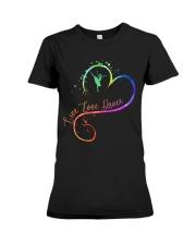 Live Love Dance Premium Fit Ladies Tee thumbnail