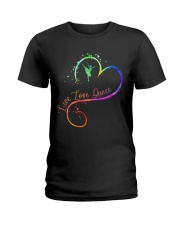 Live Love Dance Ladies T-Shirt thumbnail