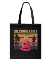 No Probllama Tote Bag tile