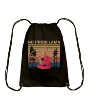 No Probllama Drawstring Bag thumbnail
