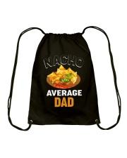Nacho Average Dad Drawstring Bag thumbnail
