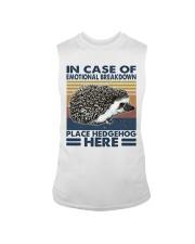 Place Hedgehog Here Sleeveless Tee thumbnail