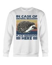 Place Hedgehog Here Crewneck Sweatshirt thumbnail
