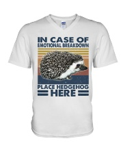 Place Hedgehog Here V-Neck T-Shirt thumbnail