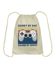Daddy By Day Drawstring Bag tile