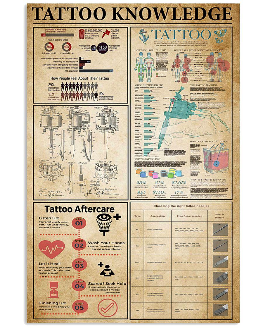 Tatoo Knowledge 11x17 Poster