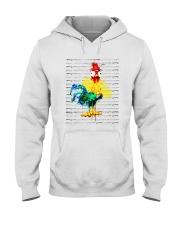 Chicken Hooded Sweatshirt front