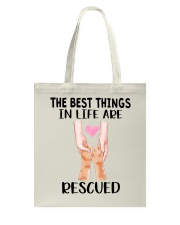 The Best Things In Life Tote Bag thumbnail