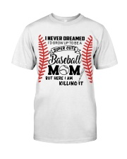 Baseball Mom Classic T-Shirt front