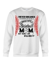 Baseball Mom Crewneck Sweatshirt thumbnail