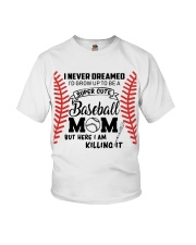 Baseball Mom Youth T-Shirt thumbnail