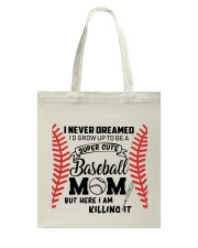 Baseball Mom Tote Bag thumbnail
