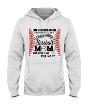 Baseball Mom Hooded Sweatshirt thumbnail