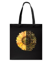 I Was Born To Be A Teacher Tote Bag thumbnail